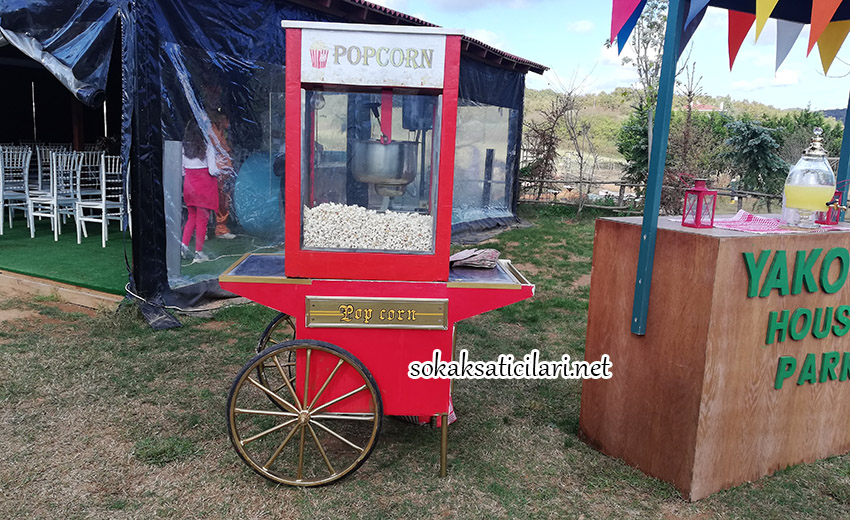 en hesaplı ve indirimli popcorn arabası fiyatları