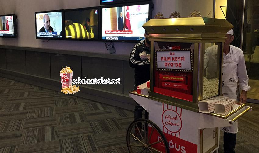 ntv şirketi popcorn dağıtım hizmeti