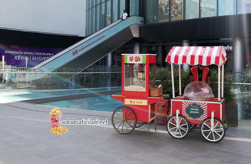 Pamuk Şeker Arabası Doğum Günü Organizasyonu