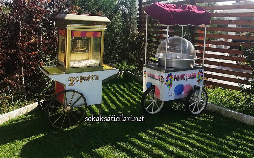 pamuk şeker arabası kiralama fiyatı istanbul