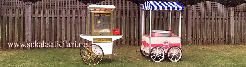 pamuk şeker standı kiralama hizmeti
