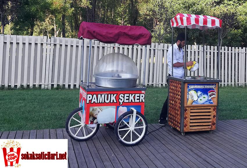 pamuk şekeri dondurma dağıtımı