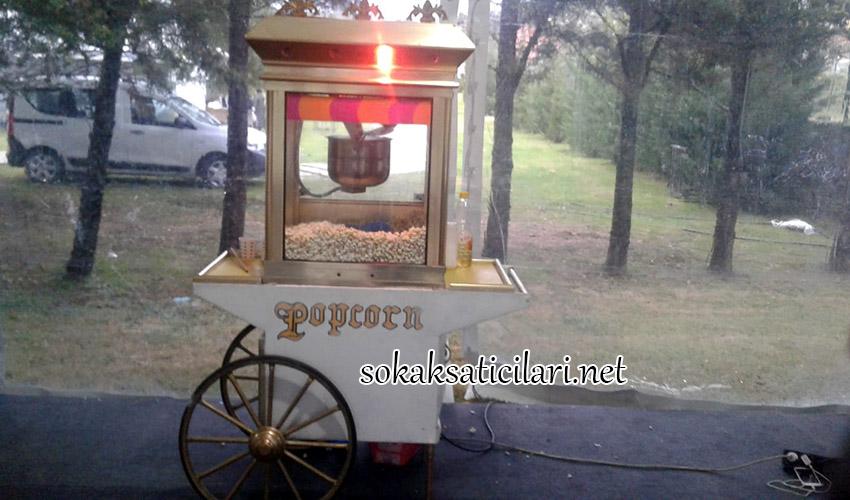 patlamış mısır arabası hizmeti