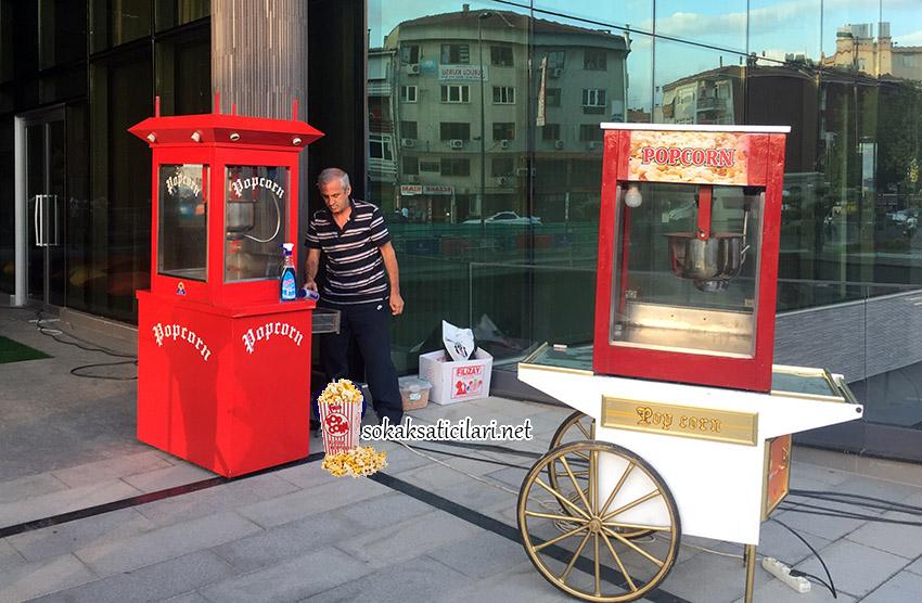popcorn arabası üsküdar belediyesi