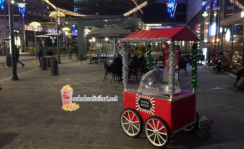 pamuk şeker arabası vadi istanbul
