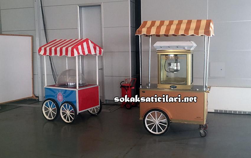 en ucuz pamuk şeker arabası ile 23 nisan şenliği
