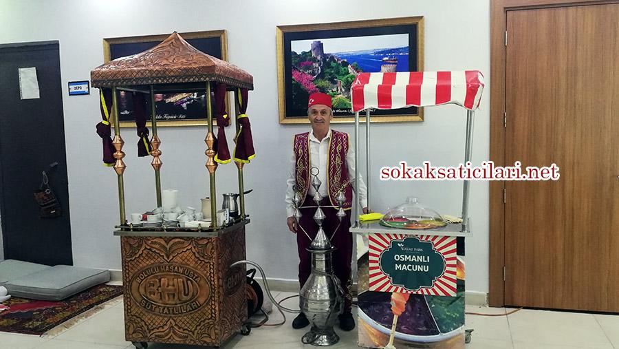 yerli malı haftasında osmanlı macunu, osmanlı şerbeti ve türk kahvesi ikram ettik.