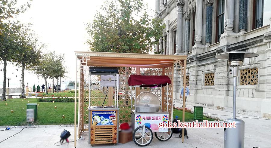 pamuk şekeri ve dondurmacı standı kiralama