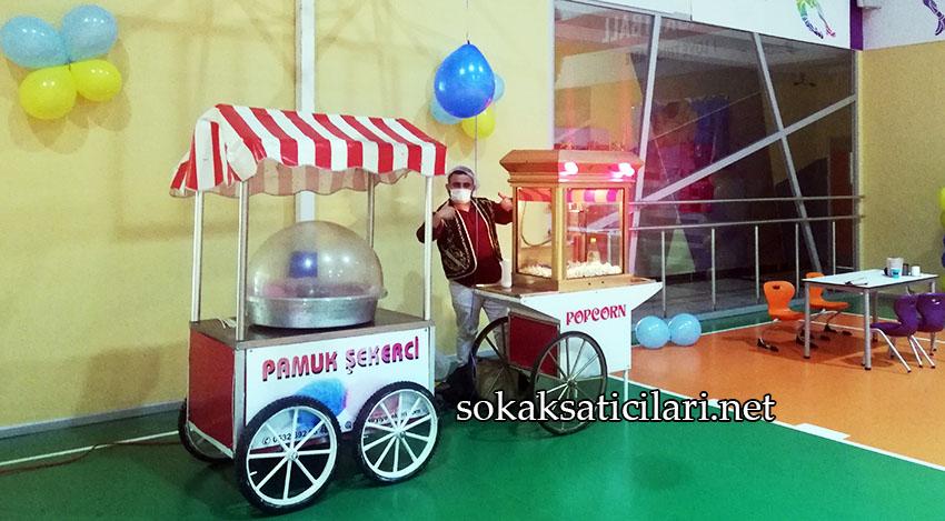 İstanbul patlamış mısır arabası kiralama organizasyonu