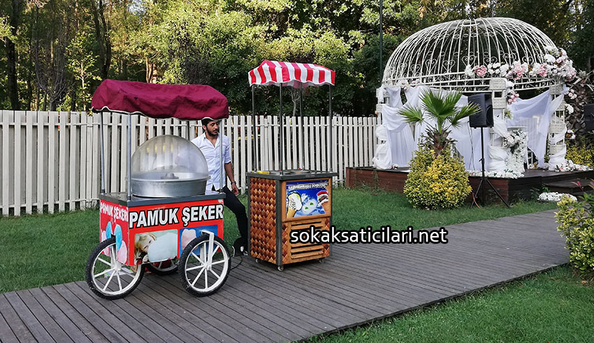 pamuk şeker standı kiralama hizmeti istanbul
