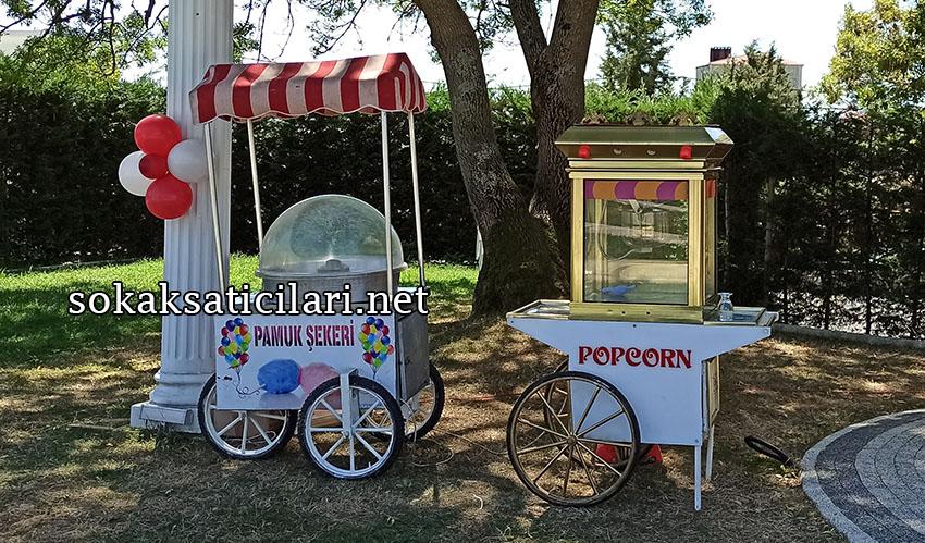 en şık popcorn arabası fiyatları